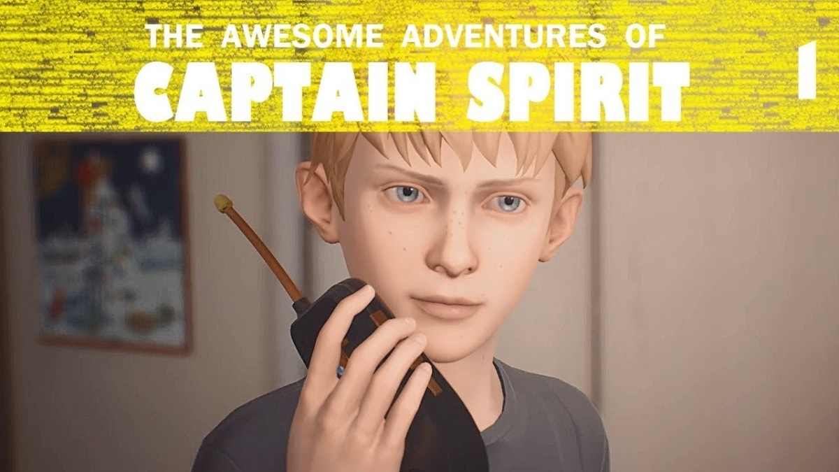 Let's Play – The Awesome Adventures of CaptainSpirit